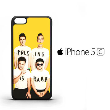 Walk The Moon Talking is Hard Cover X0386 iPhone 5C Case