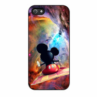 Mickey Mouse Flying With Carpet iPhone 5s Case