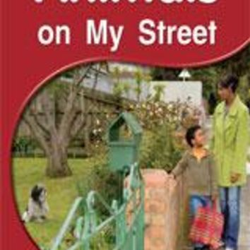 Rigby PM Shared Readers Leveled Reader 6pk Red (Levels 3-5) Animals on My StreetAnimals on My Street