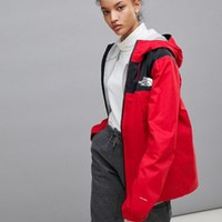 The North Face 1990 Mountain Q Jacket in Red at asos.com