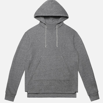 Kake Mock Pullover / Dark Grey