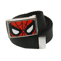 Spiderman Face Web Belt
