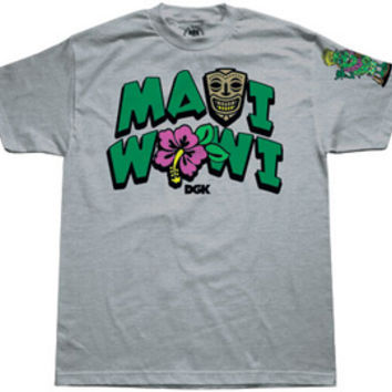KAYO DGK MAUI WOWI Men's T-Shirt in Athletic Heather (DT-216)