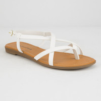 CITY CLASSIFIED Crisscross Womens Sandals