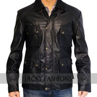 Taken 3 Bryan Mills Leather Jacket