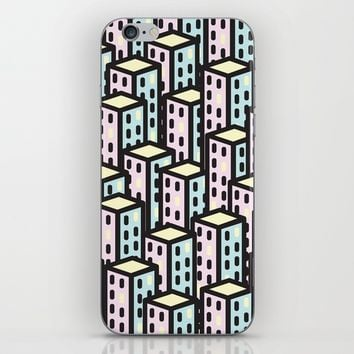 skyscrapers iPhone & iPod Skin by laP sciop