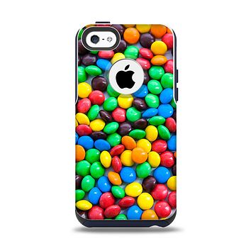 The Colorful Candy Apple iPhone 5c Otterbox Commuter Case Skin Set