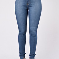 Run Away Jeans - Medium Blue
