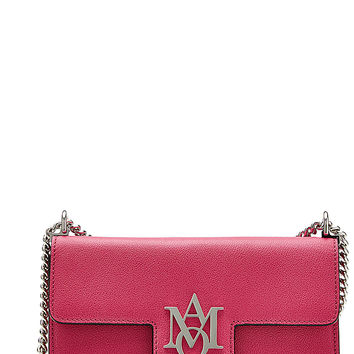 Alexander McQueen - Leather Insignia Clutch