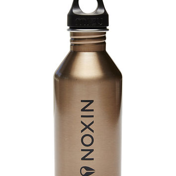 NIXON M6 600ML WATER BOTTLE - LOCKUP ROSE GOLD
