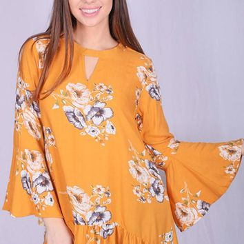 Fly By Floral Top