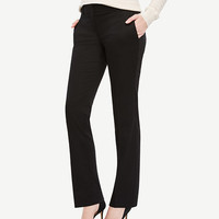 The Straight Leg Pant in Cotton Sateen - Devin Fit | Ann Taylor