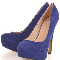 SAKURA Suede Platforms - Shoes - New In - Topshop