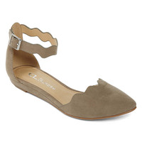 CL By Laundry Swell Ankle-Strap Flats - JCPenney