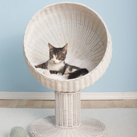 Modern Cat Beds. Kitty Ball Bed by The Refined Feline