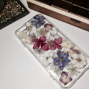 YYL Pressed flower phone case