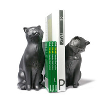 DanyaB Cat Book Ends (Set of 2)