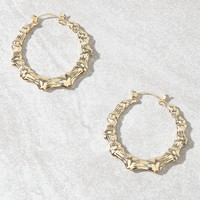 LA Hearts OG Hoop Earrings at PacSun.com