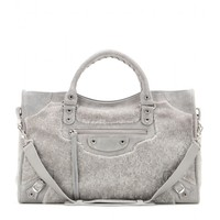 Giant 12 City shearling tote