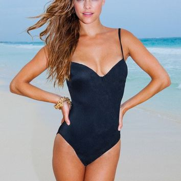 f8b767e1c02 Sauvage Swimwear Nina Designer One Piece from Bikini Luxe