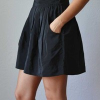 Trendy Clothing, Fashion Shoes, Women Accessories | Harper Pleated Black Skirt  | LoveShoppingMiami.com