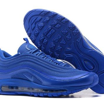 Nike Air Max 97 Hyperfuse Dynamic Blue Mens Running Shoes 518160-440 - Beauty Ticks