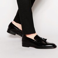 Rolando Sturlini Leather Tassel Loafers
