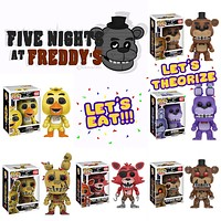 Funko Pop! Games: Five Nights at Freddy's Set of 6 11029.30.31.32.33.64