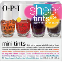 Sheer Tints Color-Tinted Top Coats