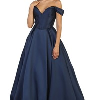Long Formal Dress Evening Party Prom Ballgown