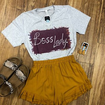 Boss Lady Short Sleeve Graphic Tee