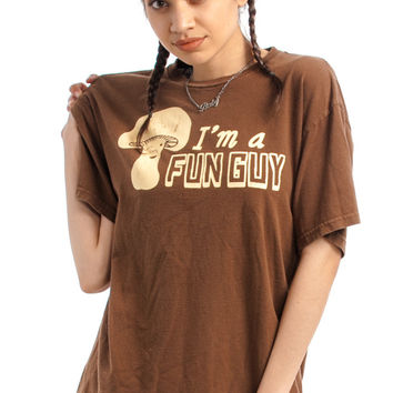 Vintage 90's Fun Guy Tee - One Size Fits Many