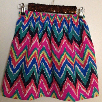 Lilly Pulitzer Multi Hearts a Flutter Cissy Skirt Preppy Sorority