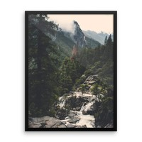 Yosemite View - Framed Photo Print