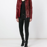 Isaac Sellam Experience 'imprudente Crasser' Biker Jacket - The Library - Farfetch.com