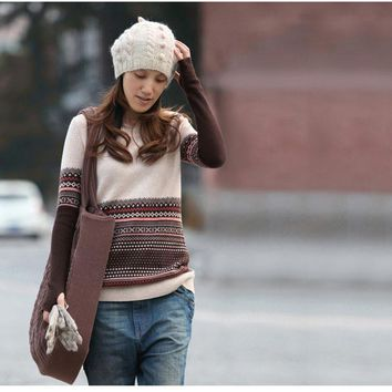 Free shipping New genuine cashmere sweater women pure cashmere Pullovers cashmere sweater customized big size T171075
