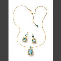 Bridal jewellery set: necklace and earrings - D&G Jewellery