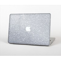 The Silver Sparkly Glitter Ultra Metallic Skin Set for the Apple MacBook Pro 13""