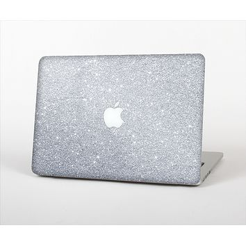 The Silver Sparkly Glitter Ultra Metallic Skin Set for the Apple MacBook Air 11""