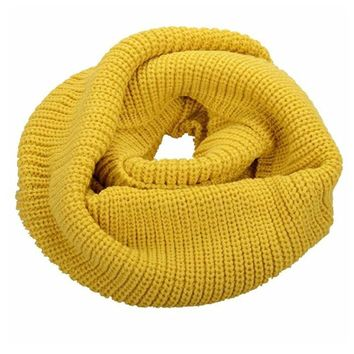 women s simplicity thick neck warmer men s infinity scarf  number 1