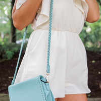City Walk Crossbody Bag - Seafoam
