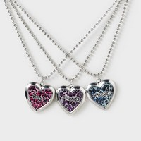 Best Friends Forever Locket Necklace Set  | Claire's