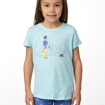 Roxy - Girls 2-6 Skate Chick Tee