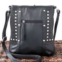 Woman's Pyramid Stud Crossbody Bags Fashion Handbags