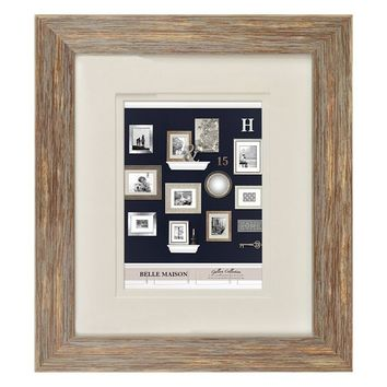 Belle Maison Traditional 8'' x 10'' Matted Frame