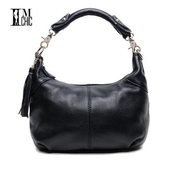 Soft Genuine Leather Cowhide Women Shoulder Bags Real Skin Woman Crossbody Business Work Messenger Casual Tote Handbags 0101
