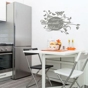 Scent of Herbs Wall Decal