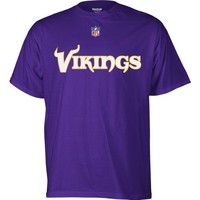 Reebok Minnesota Vikings Sideline Authentic T-Shirt Large