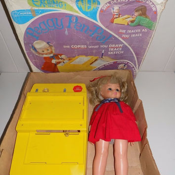 Peggy Pen-Pal Doll And Desk Original Box Horsman