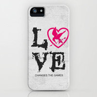 The Hunger Games Poster 07 iPhone & iPod Case by Misery